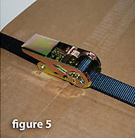 Ratchet Strap Cargo Straps using correctly 5