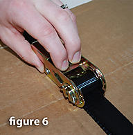Ratchet Strap Cargo Straps using correctly 6