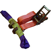 4m ratchet strap car recovery  Cargo Straps Lashing Systems Tie Down Straps